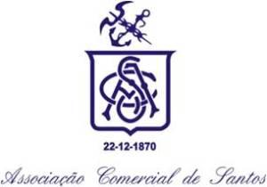 Logo Associação Comercial de Santos